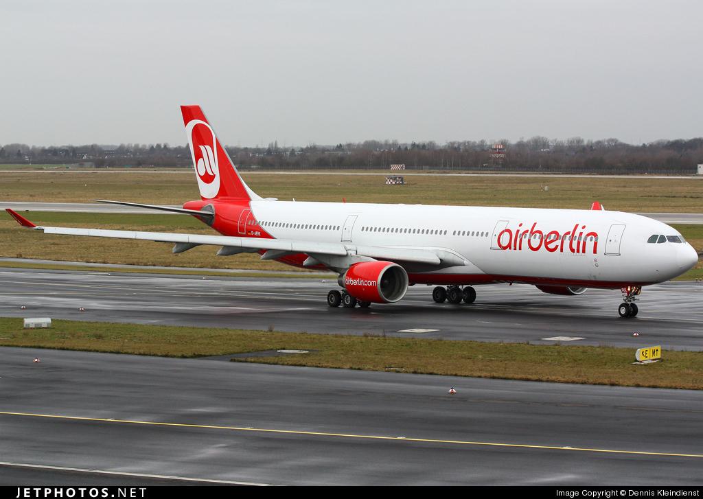 Kleindienst Berlin d aerk airbus a330 322 air berlin ltu dennis kleindienst
