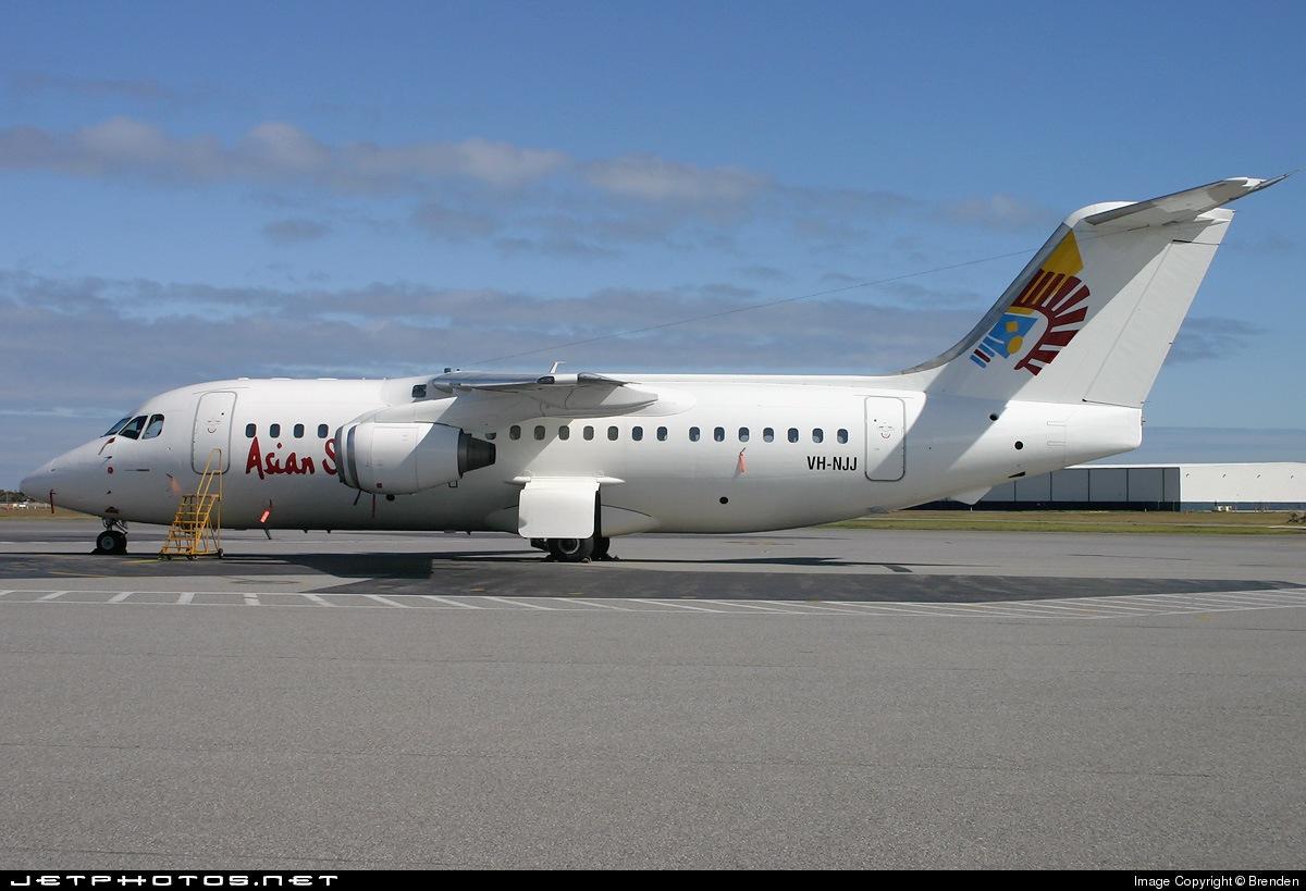 VH-NJJ - British Aerospace BAe 146-200 - Asian Spirit