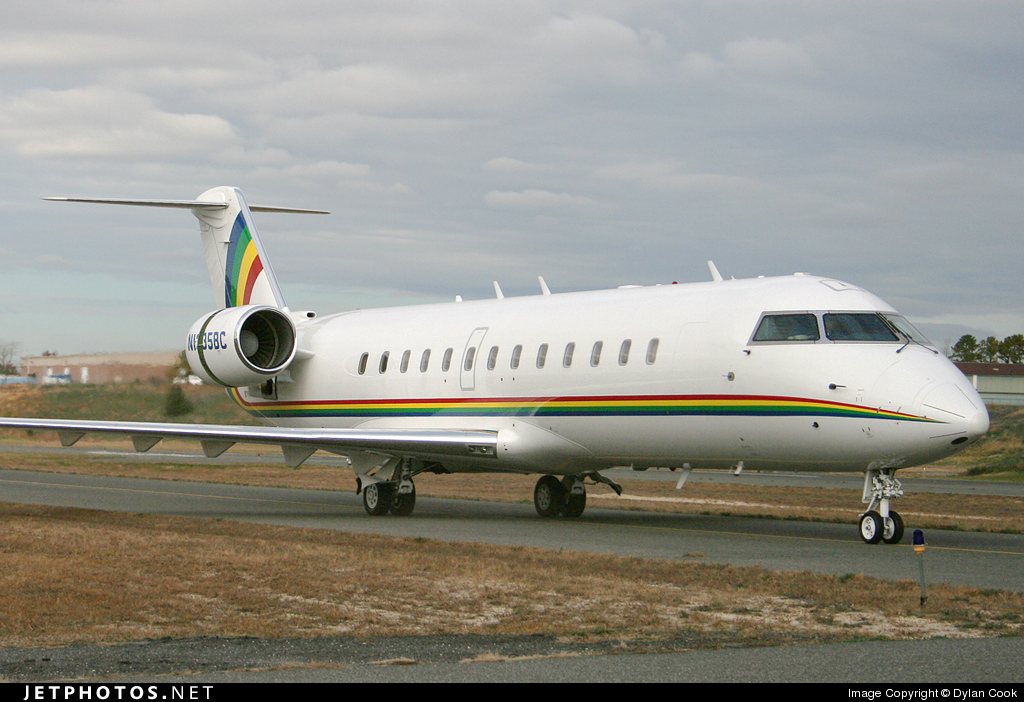 N135BC - Bombardier CRJ-100SE - Private