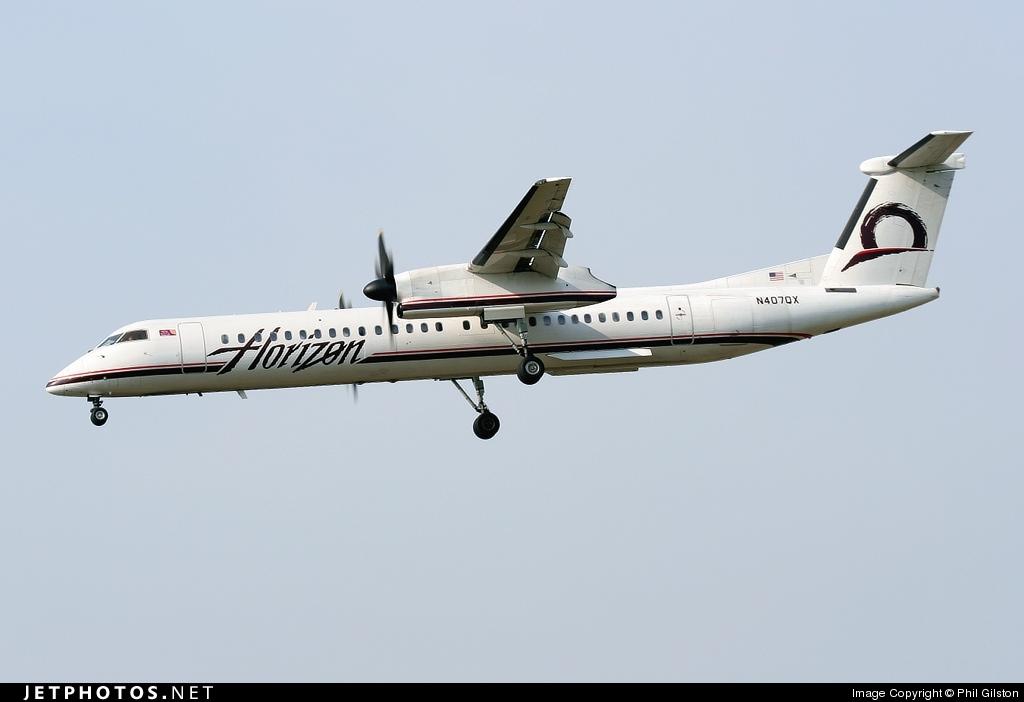 N407QX - Bombardier Dash 8-Q402 - Horizon Air