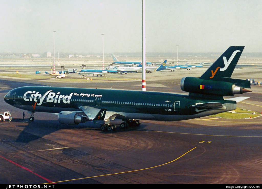 OO-CTB - McDonnell Douglas MD-11 - CityBird