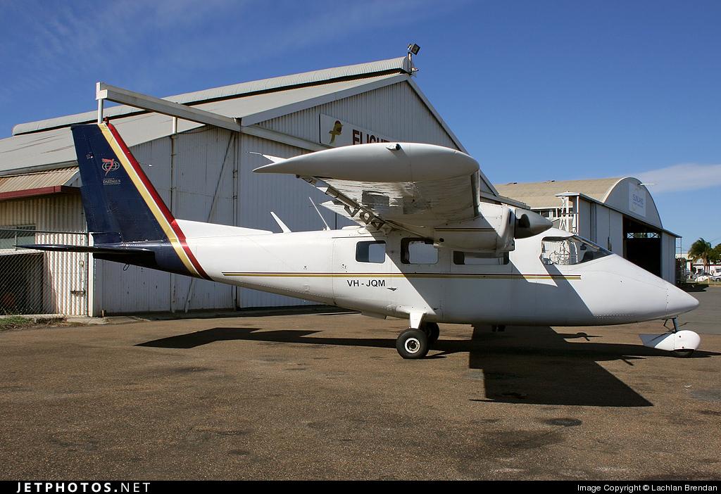VH-JQM - Partenavia P.68B Victor - West Wing Aviation