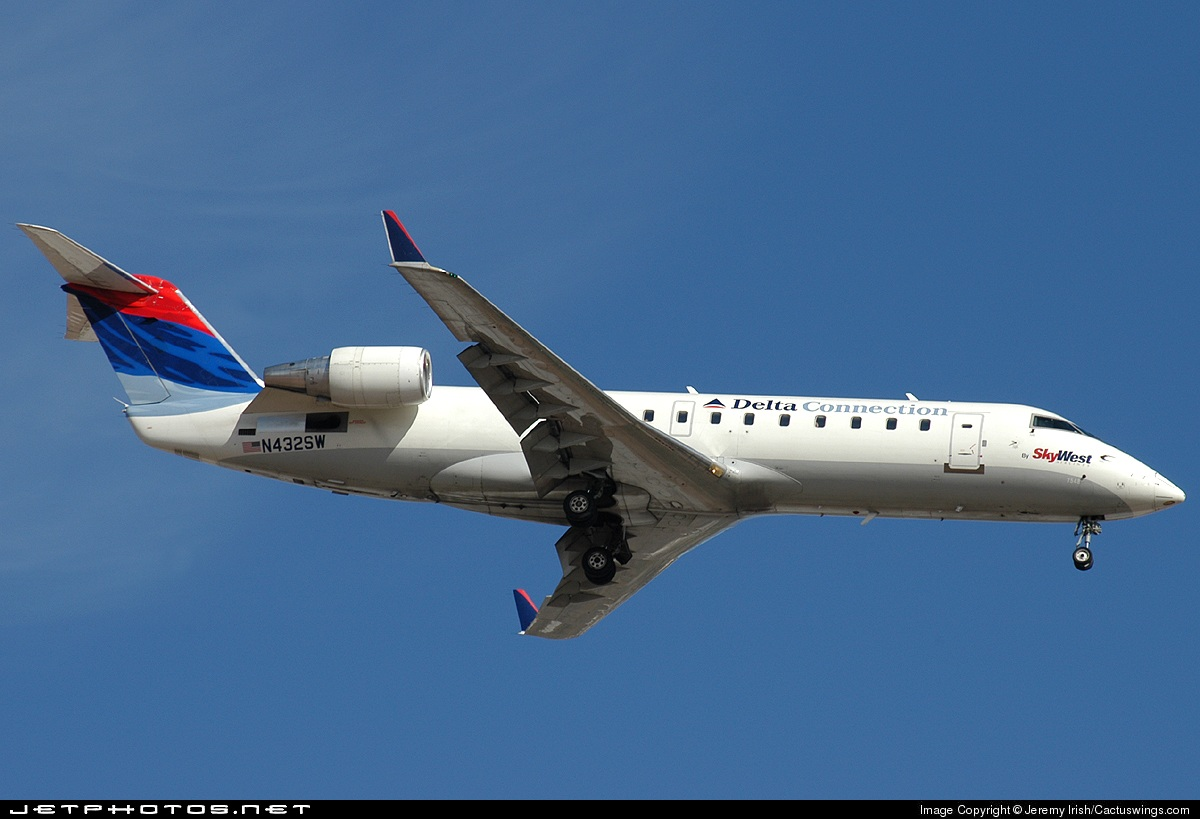 N432SW - Bombardier CRJ-200ER - Delta Connection (SkyWest Airlines)