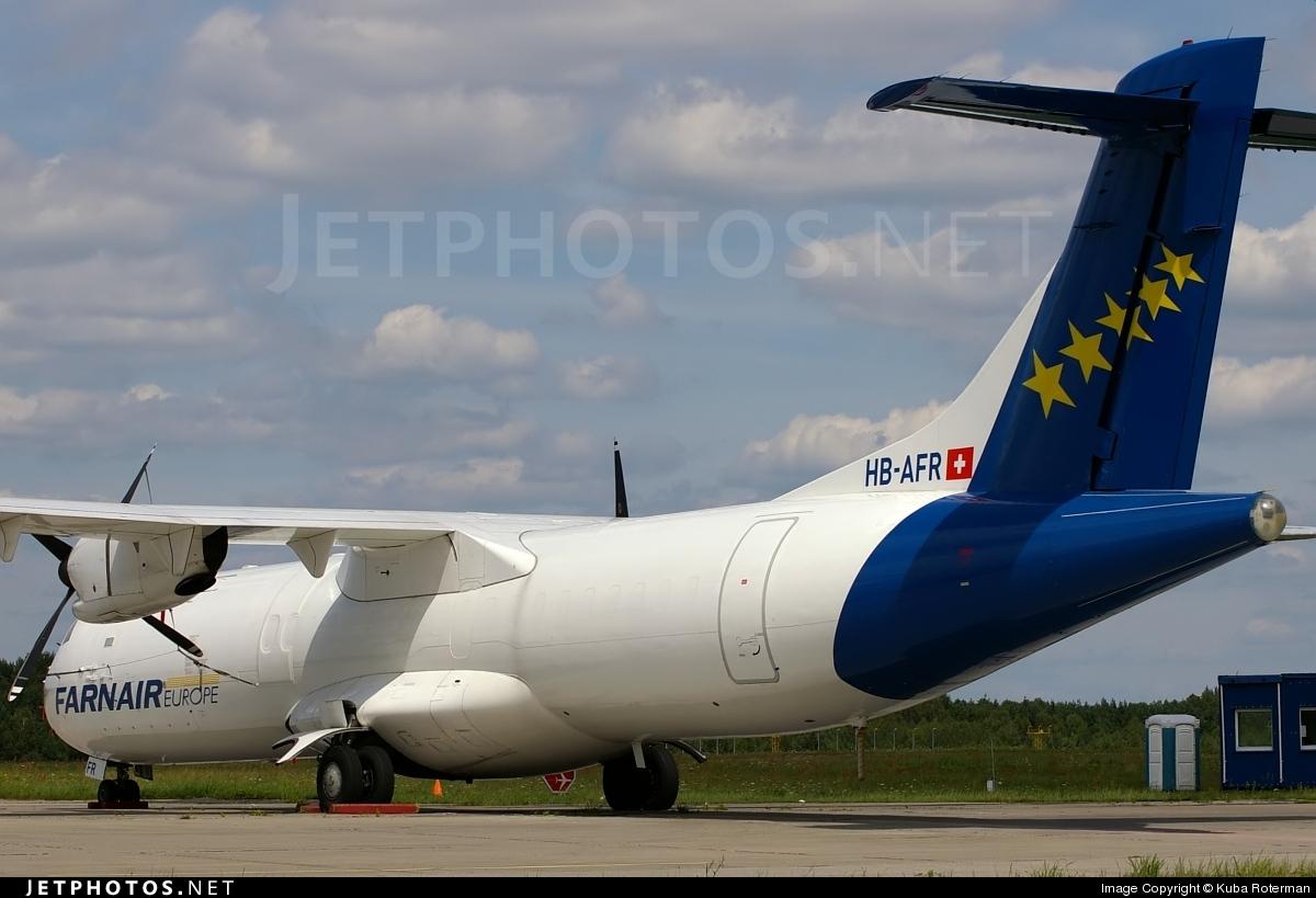HB-AFR - ATR 72-201(F) - Farnair Switzerland