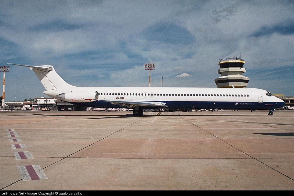 ZS-OBK - McDonnell Douglas MD-82 - Safair