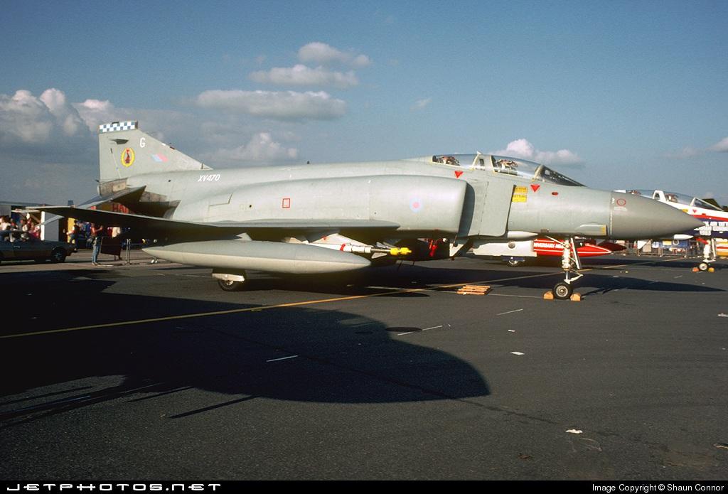 XV470 - McDonnell Douglas Phantom FGR.2 - United Kingdom - Royal Air Force (RAF)