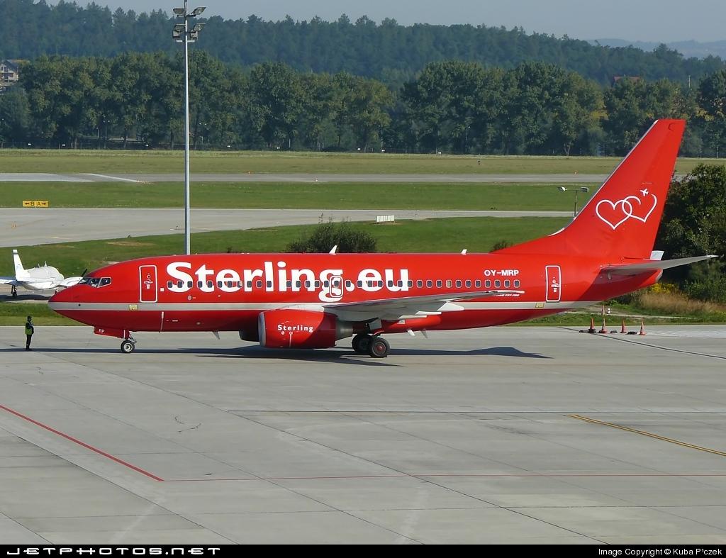 OY-MRP - Boeing 737-7K9 - Sterling Airlines
