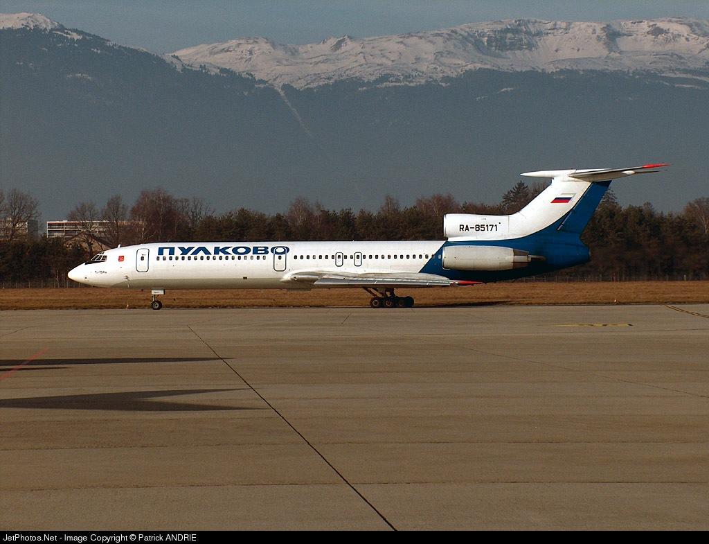 RA-85171 - Tupolev Tu-154M - Pulkovo Aviation Enterprise