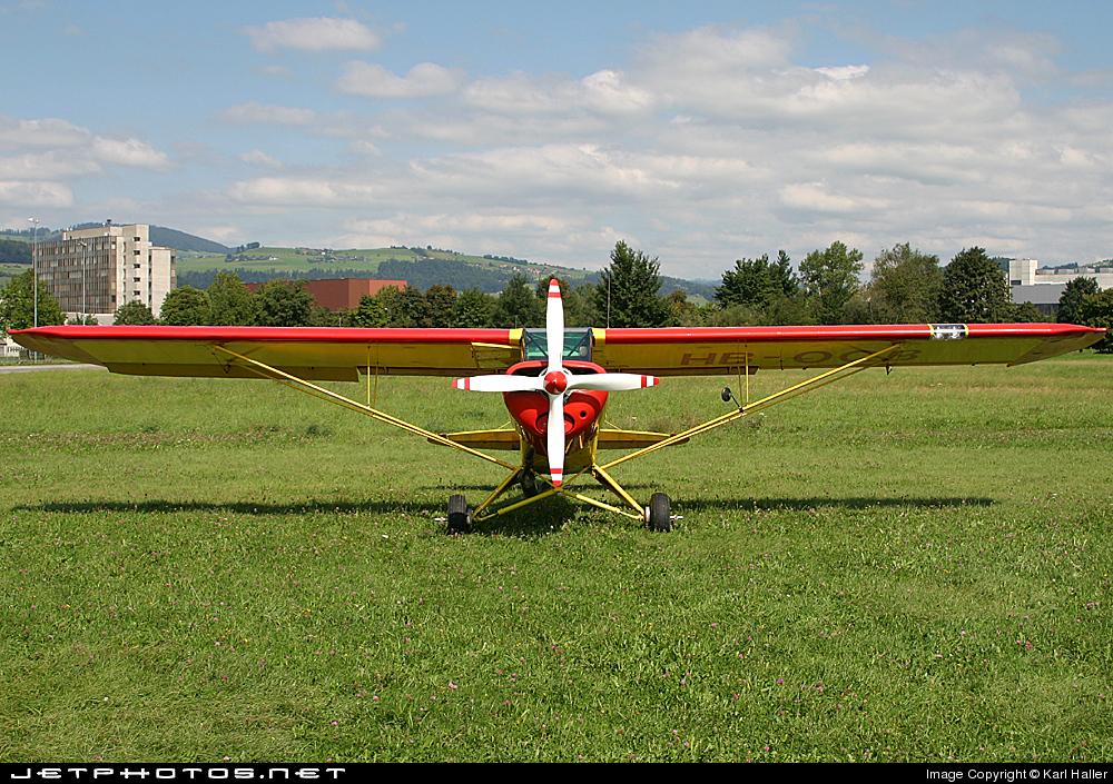 HB-OQB - Piper PA-18-180 Super Cub - Private