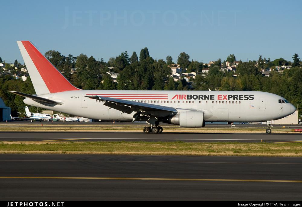 N774AX - Boeing 767-281(PC) - Airborne Express