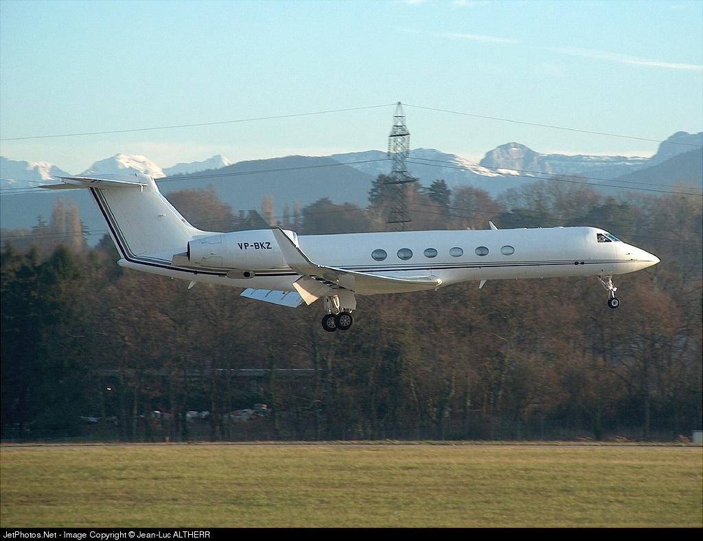 VPBKZ - Gulfstream G-V - Private