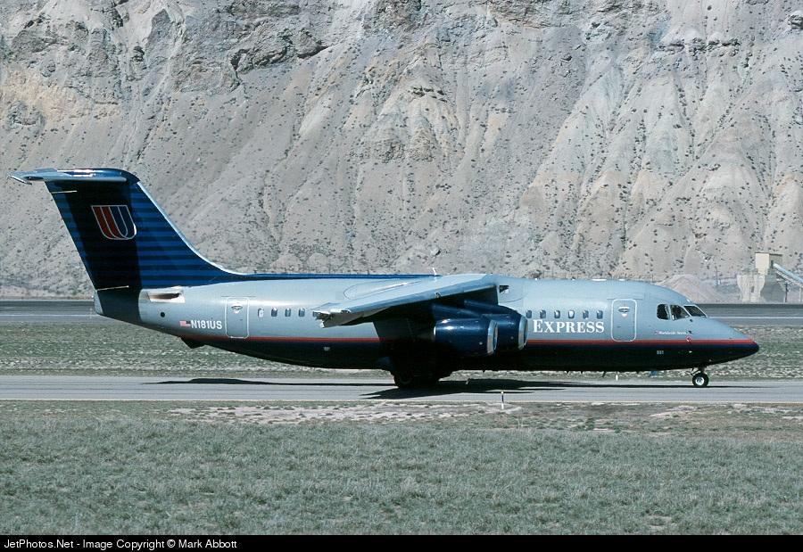 N181US - British Aerospace BAe 146-200 - United Express (Air Wisconsin)