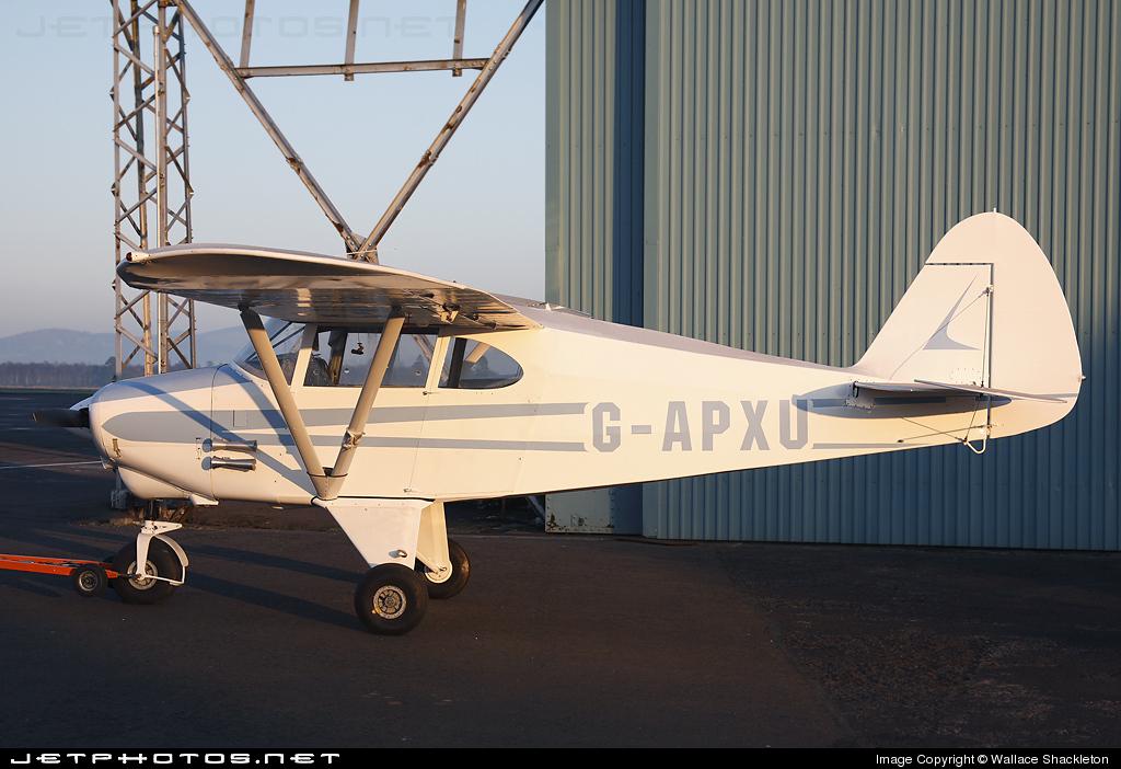 G-APXU - Piper PA-22-160 Tri-Pacer - Private