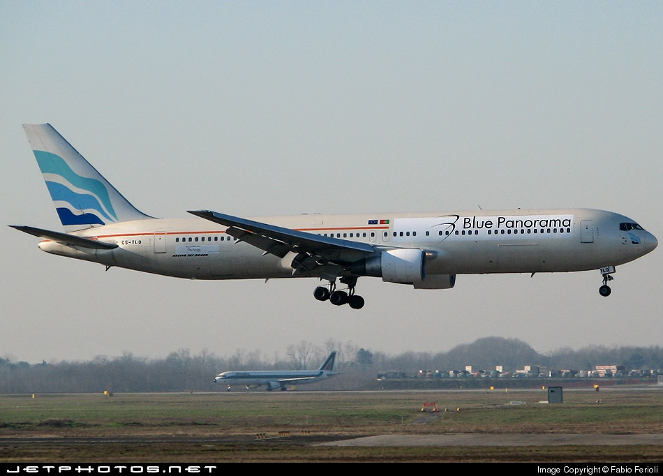CS-TLO - Boeing 767-383(ER) - Blue Panorama Airlines (EuroAtlantic Airways)