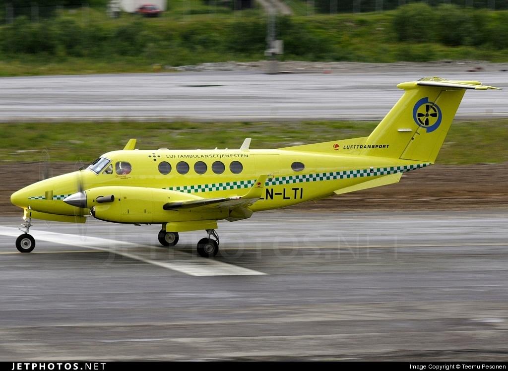 LN-LTI - Beechcraft B200 Super King Air - Lufttransport