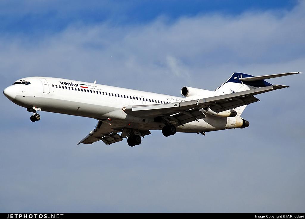 EP-IRP - Boeing 727-286(Adv) - Iran Air