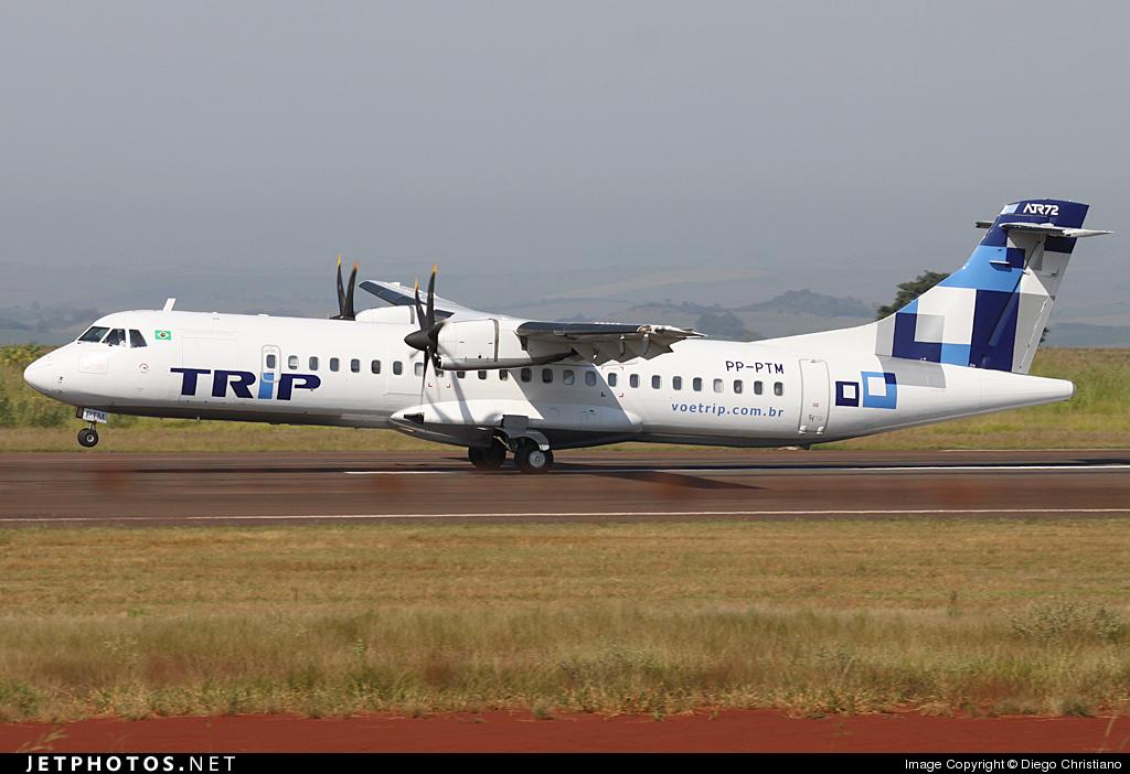 PP-PTM - ATR 72-212A(500) - TRIP Linhas Aéreas