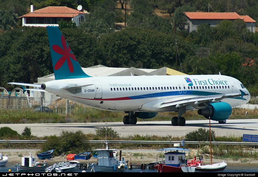 G-OOAR - Airbus A320-214 - First Choice Airways