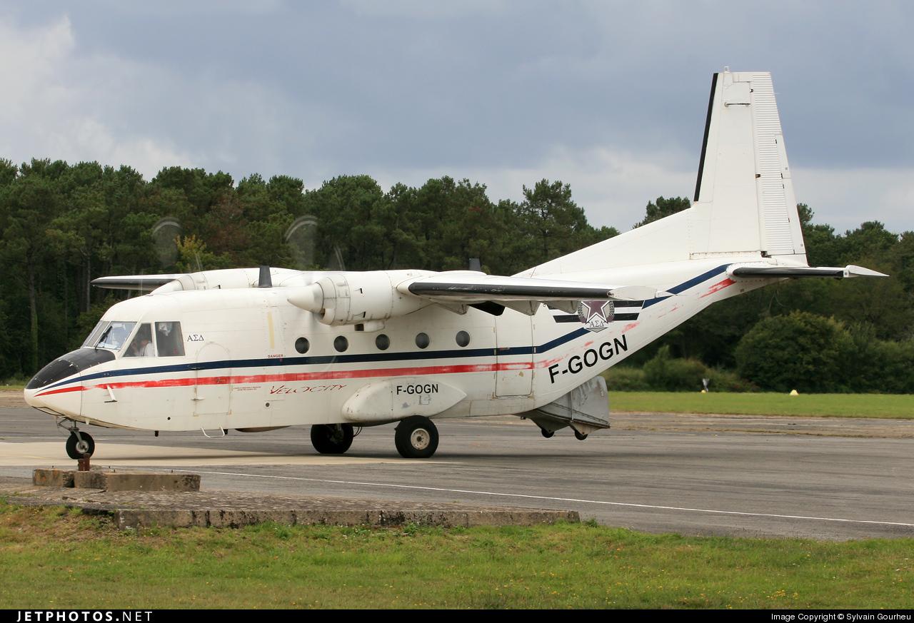F-GOGN   CASA C-212-CE Aviocar   Private   Sylvain Gourheu   JetPhotos