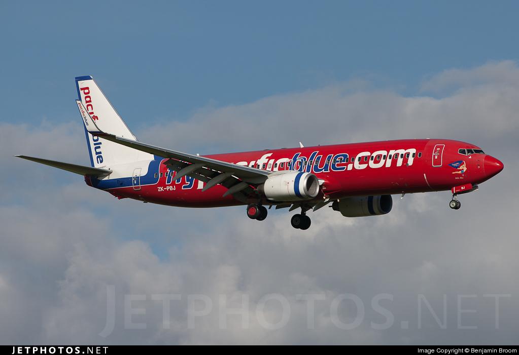 ZK-PBJ - Boeing 737-8FE - Pacific Blue Airlines