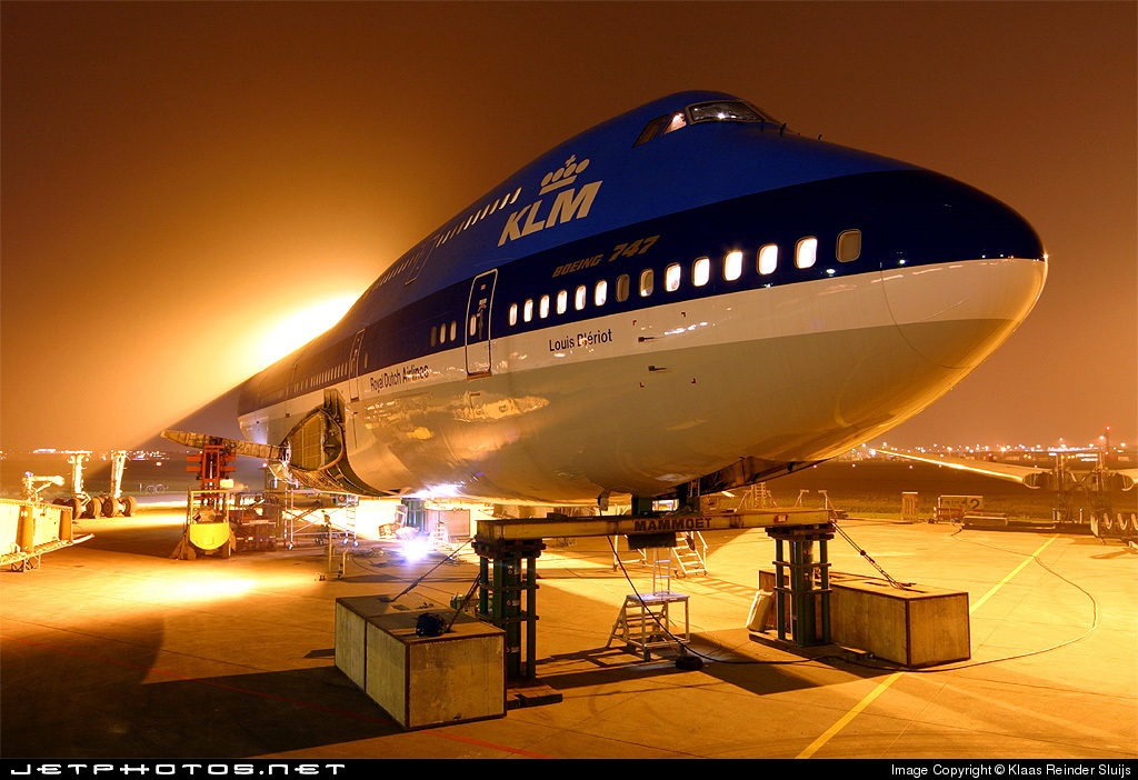 PH-BUK - Boeing 747-206B(M)(SUD) - KLM Royal Dutch Airlines
