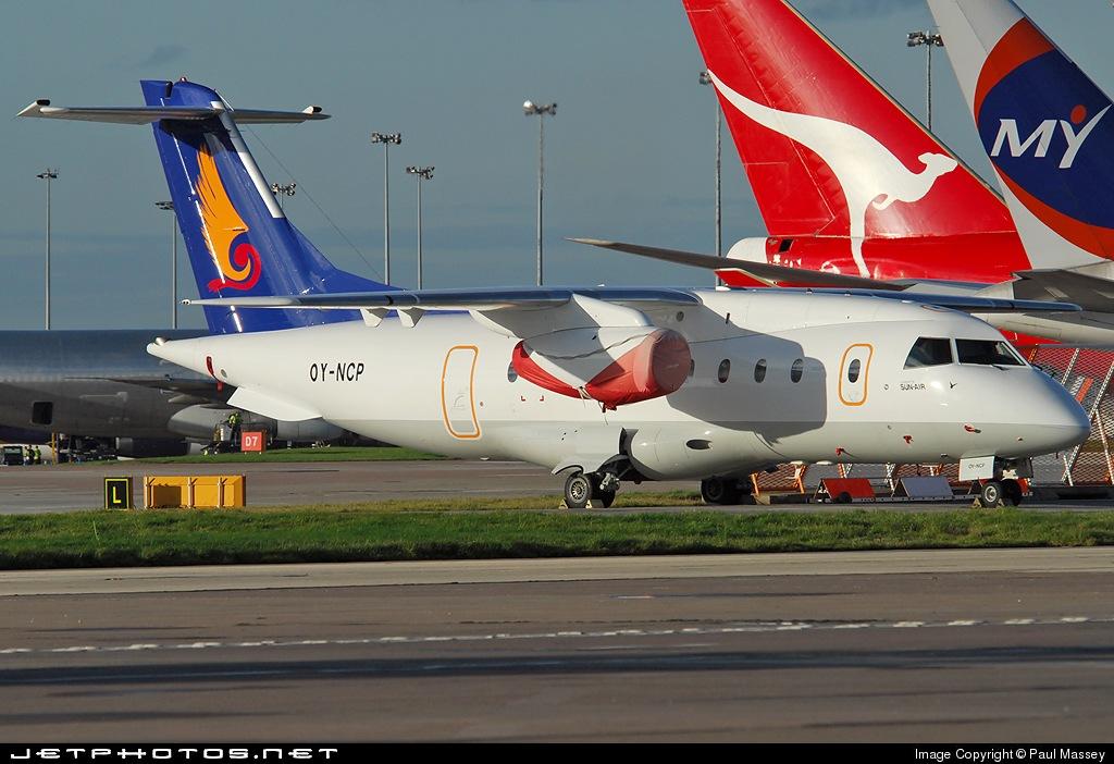 OY-NCP - Dornier Do-328-300 Jet - Sun-Air of Scandinavia