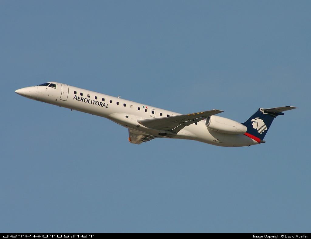 XA-ALI - Embraer ERJ-145LR - Aerolitoral
