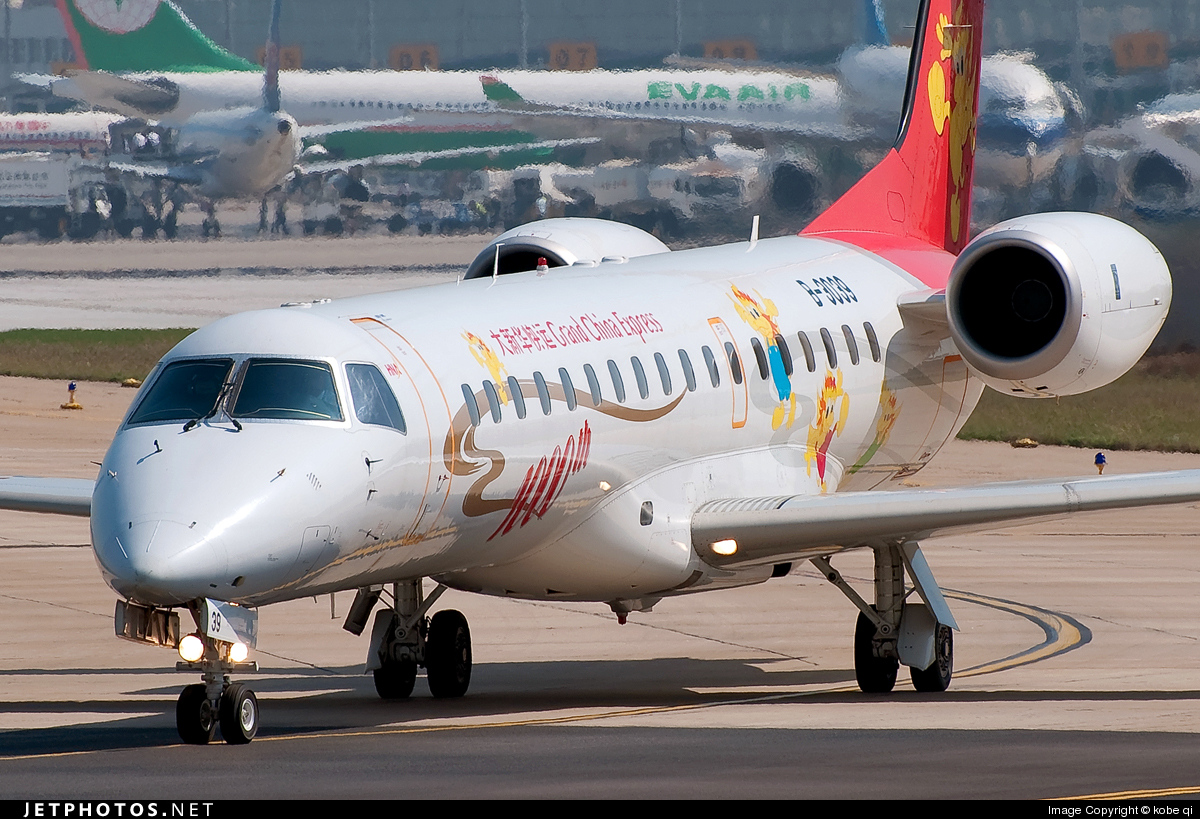 B-3039 - Embraer ERJ-145LI - Grand China Express