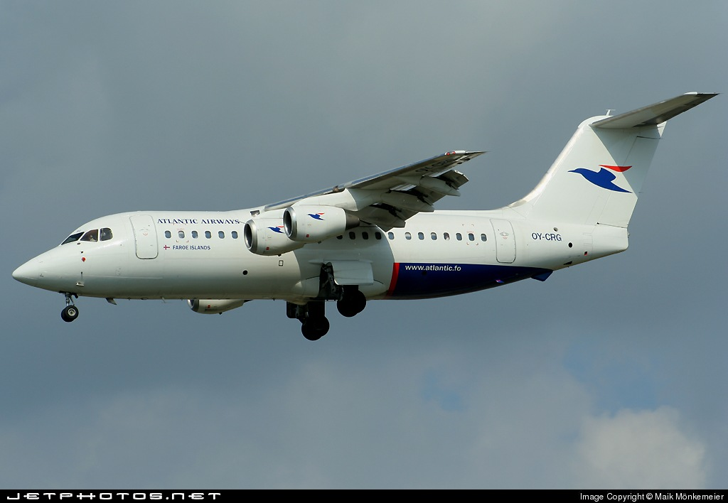 OY-CRG - British Aerospace BAe 146-200 - Atlantic Airways