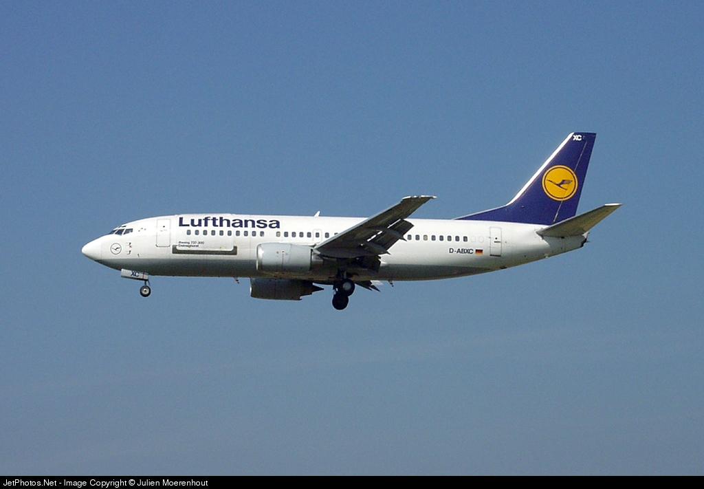 D-ABXC - Boeing 737-330(QC) - Lufthansa