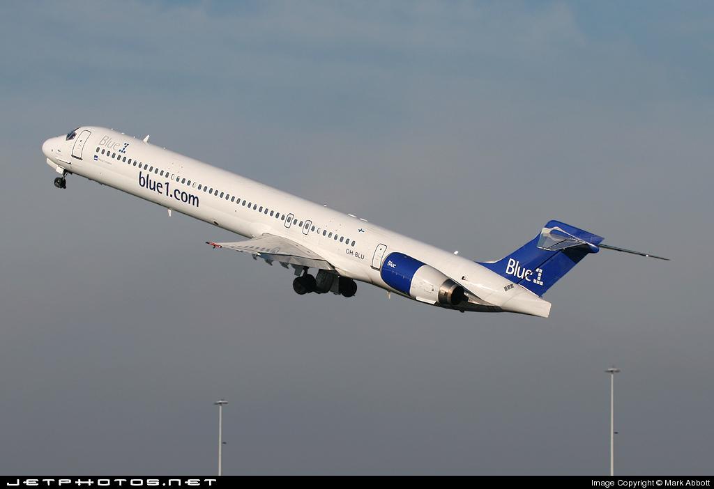 OH-BLU - McDonnell Douglas MD-90-30 - Blue1