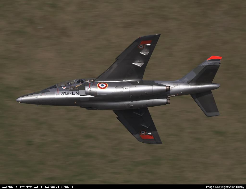 E118 - Dassault-Breguet-Dornier Alpha Jet E - France - Air Force