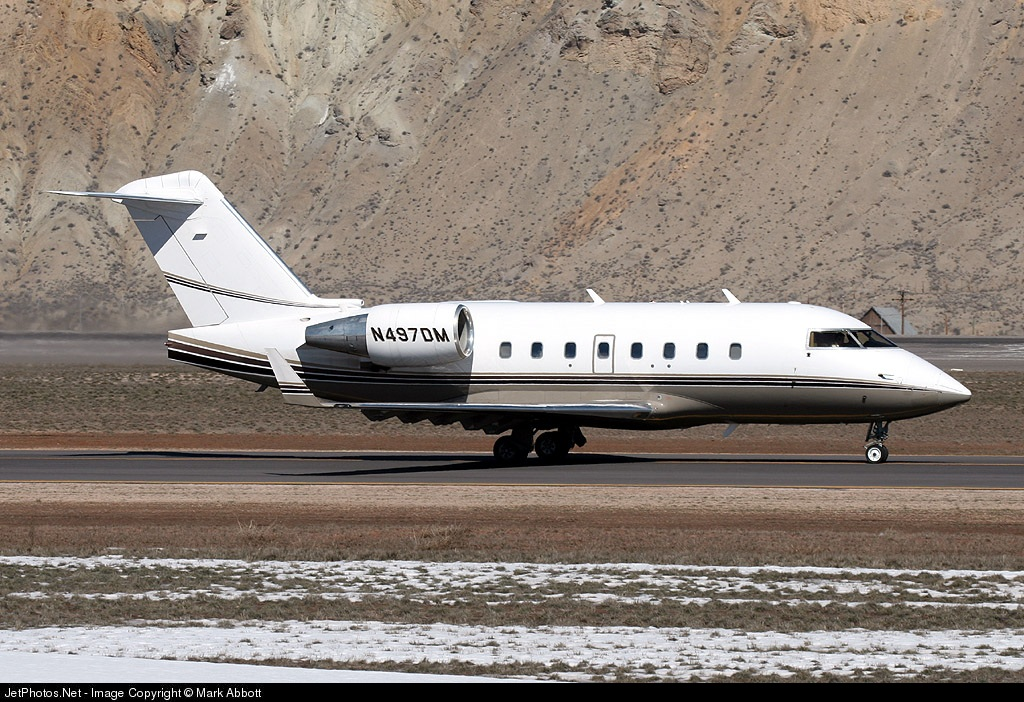 N497DM - Bombardier CL-600-2B16 Challenger 604 - Private