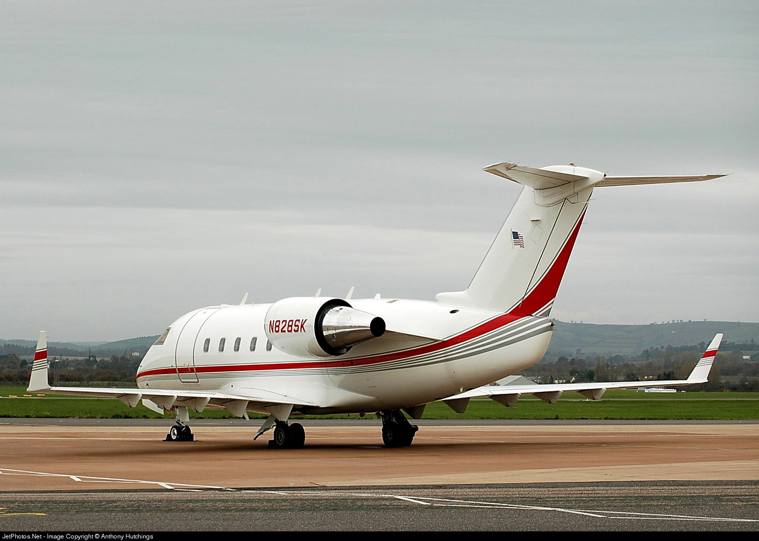 N828SK - Bombardier CL-600-2B16 Challenger 601-3A - Private