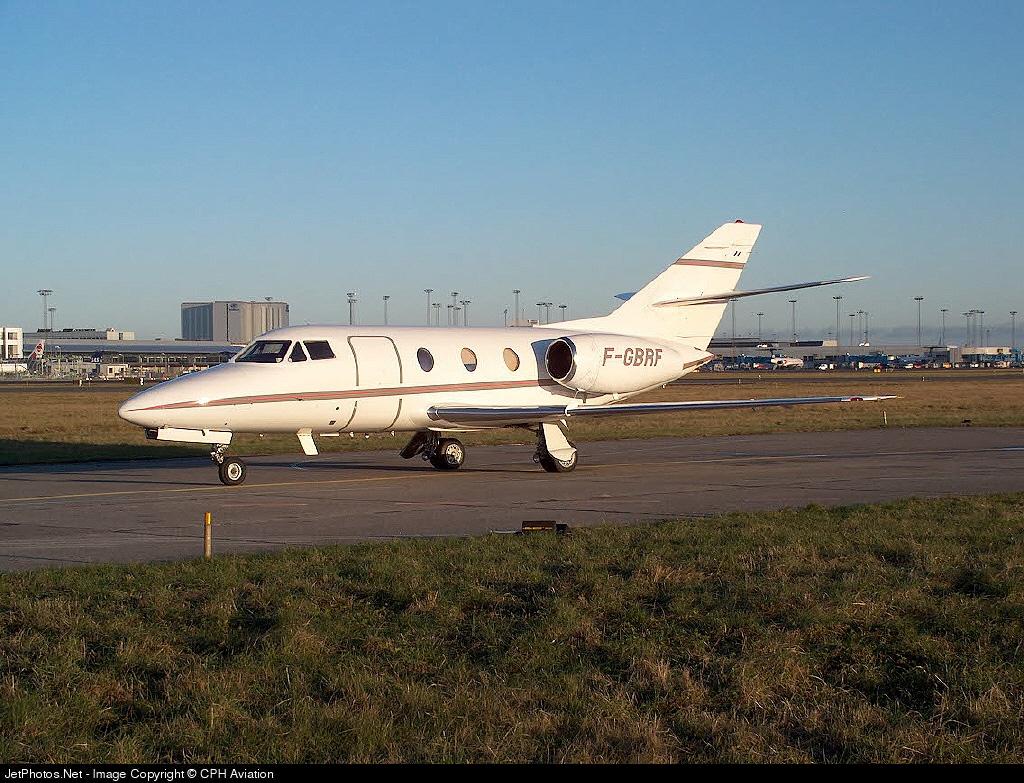 F-GBRF - Dassault Falcon 10 - Private