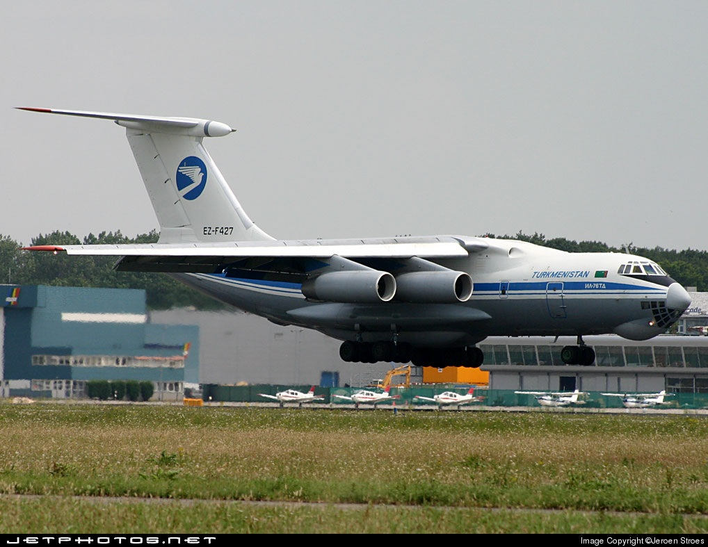 EZ-F427 - Ilyushin IL-76TD - Turkmenistan Airlines