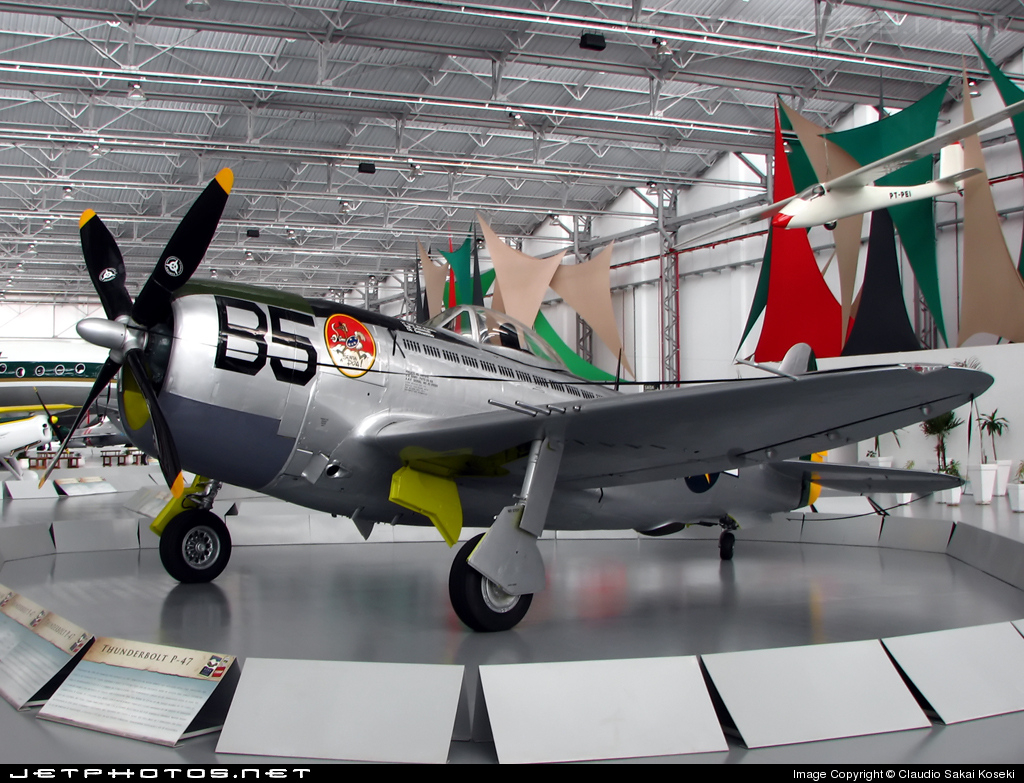 FAB229265 - Republic P-47D Thunderbolt - Brazil - Air Force