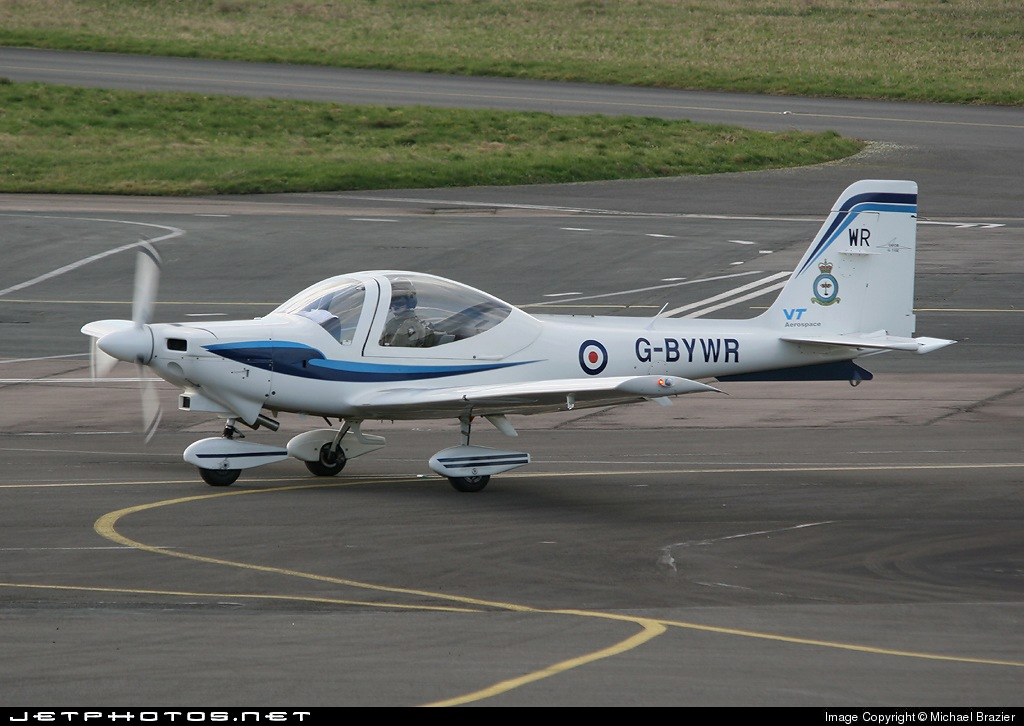 G-BYWR - Grob G115E Tutor - VT Aerospace