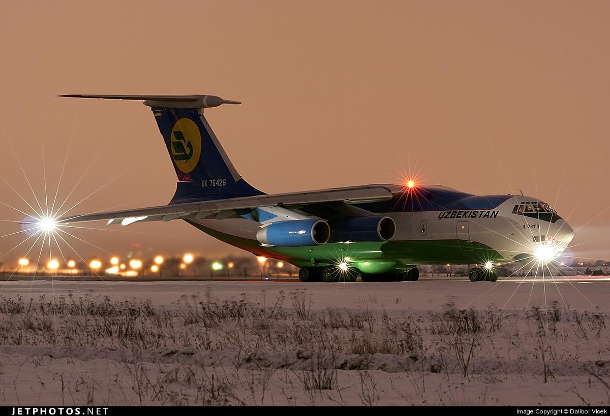 UK-76426 - Ilyushin IL-76TD - Uzbekistan Airways