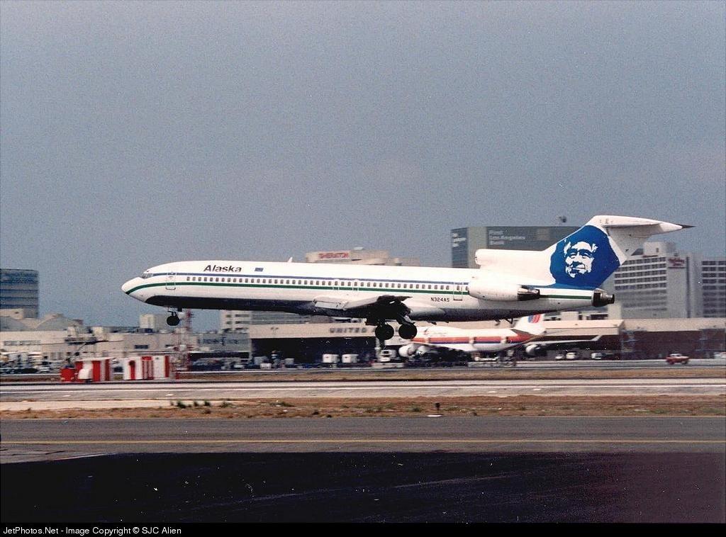 N324AS - Boeing 727-247 - Alaska Airlines
