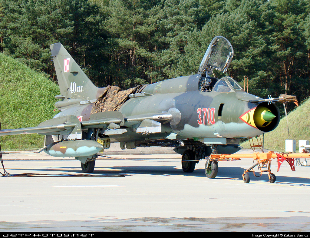 3710 - Sukhoi Su-22M4 Fitter K - Poland - Air Force