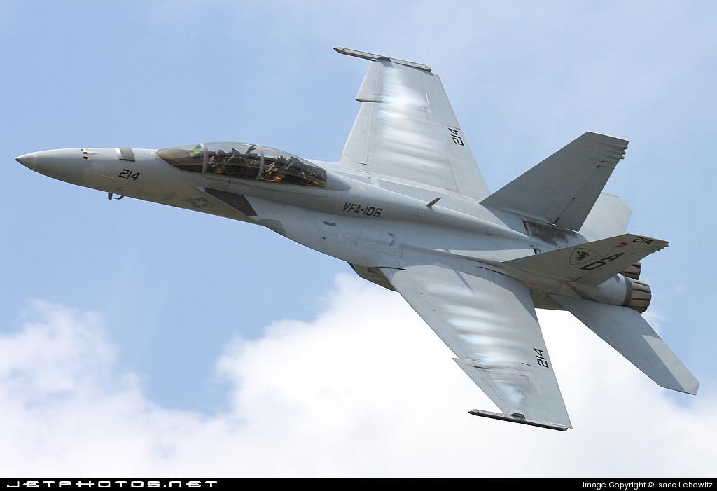 165799 - Boeing F/A-18F Super Hornet - United States - US Navy (USN)