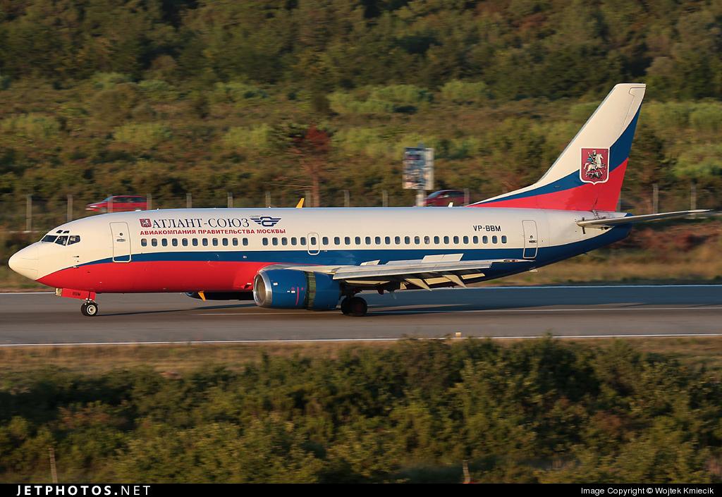 VP-BBM - Boeing 737-347 - Atlant-Soyuz Airlines