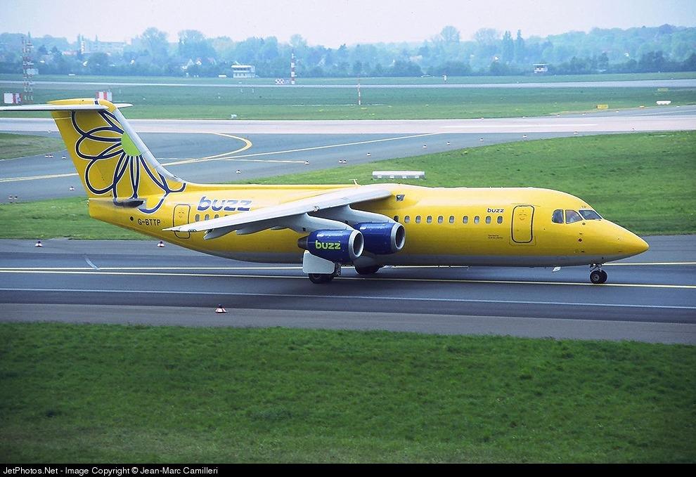 G-BTTP - British Aerospace BAe 146-300 - Buzz