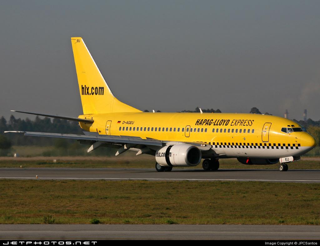 D-AGEU - Boeing 737-75B - TUIfly (Germania)