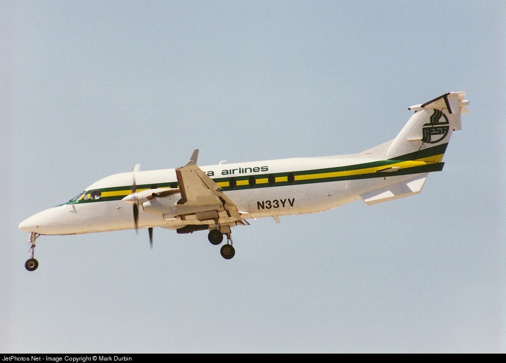 N33YV - Beech 1900D - Mesa Airlines