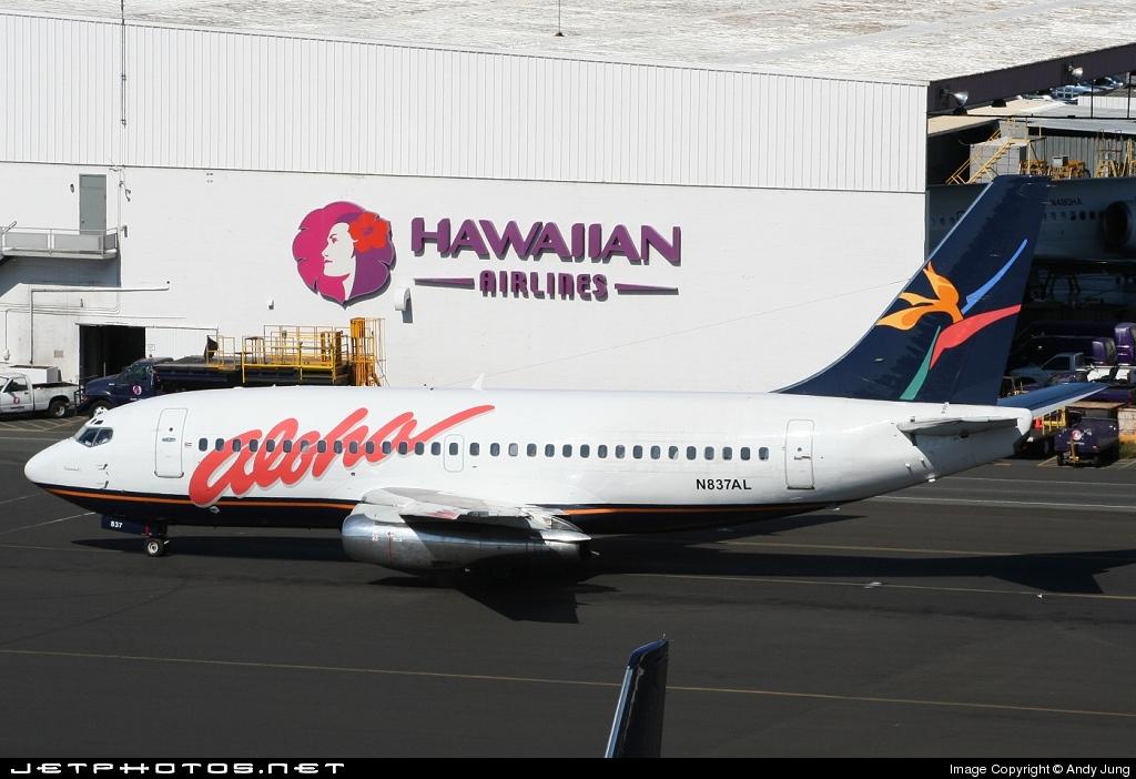 N837AL - Boeing 737-236(Adv) - Aloha Airlines