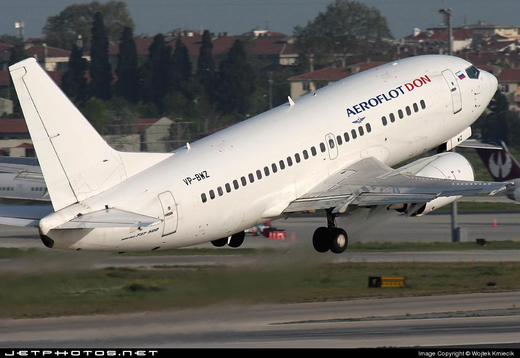 VP-BWZ - Boeing 737-528 - Aeroflot-Don