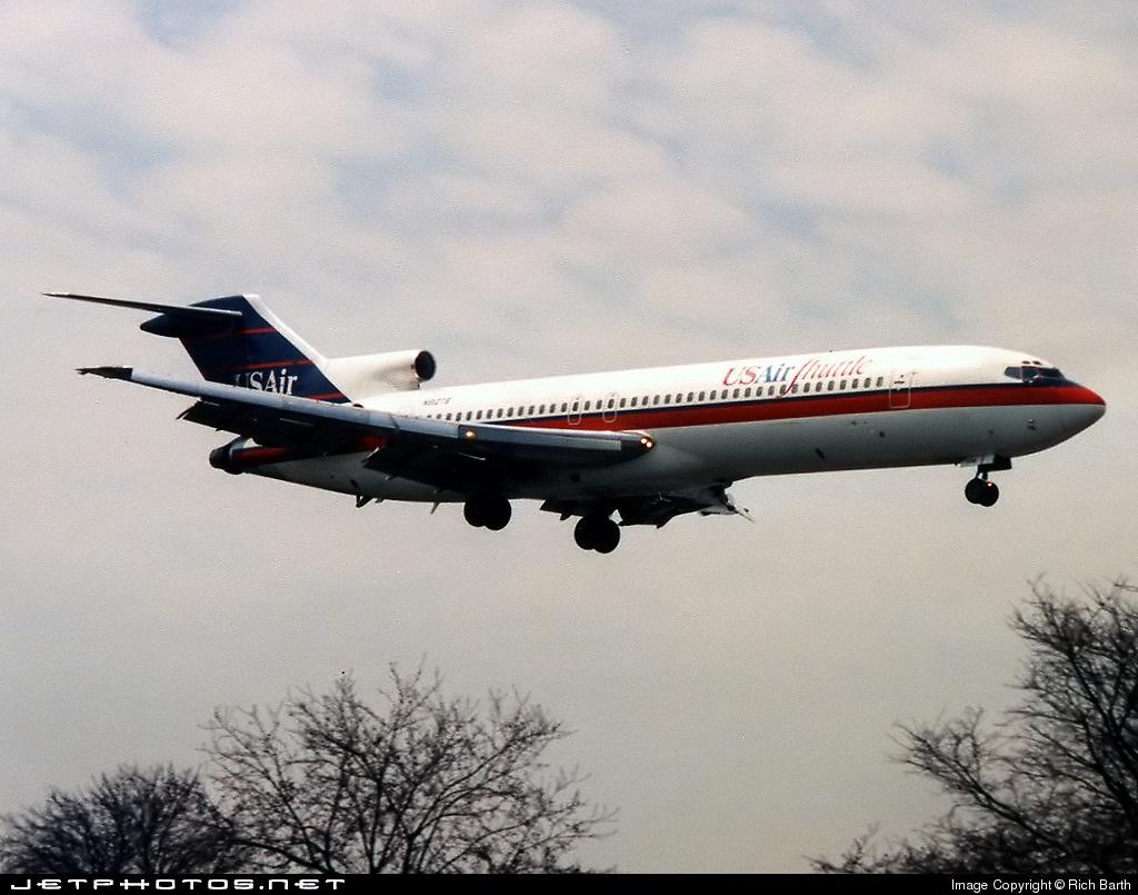 N910TS - Boeing 727-214 - USAir Shuttle