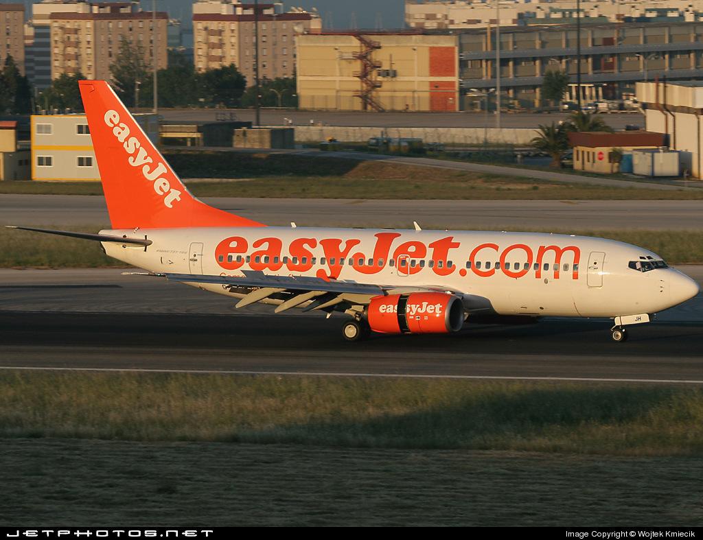 G-EZJH - Boeing 737-73V - easyJet